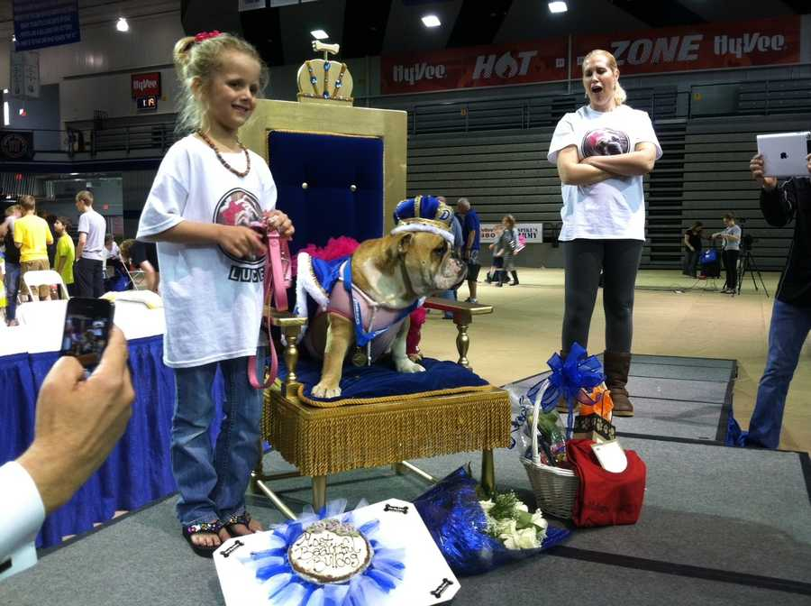 Lucey is the 2014 winner. She belongs to Chayse Torstenson and her mom Tiffany Torstenson, from Waukee.