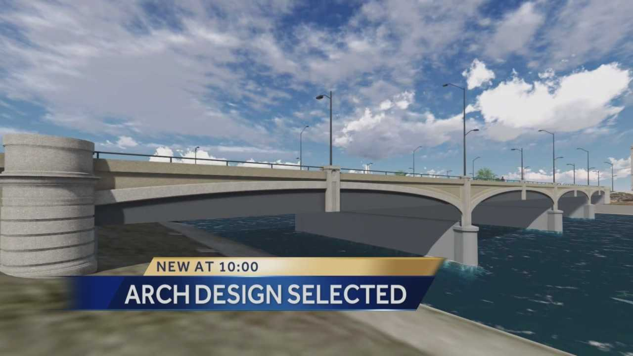 We now know what the new Grand Avenue Bridge in Downtown Des Moines will look like, and how much it'll cost the city.