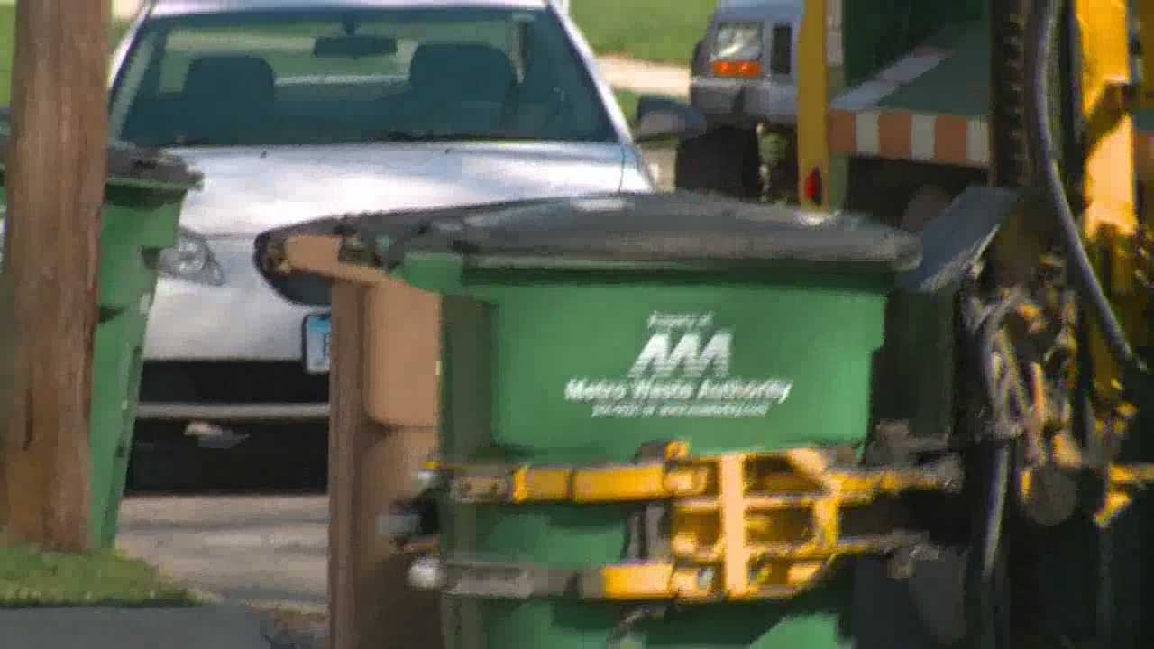 Mini-blinds, laundry baskets and plastic bags are showing up in metro recycling bins and officials say it is not helping the recycling effort.