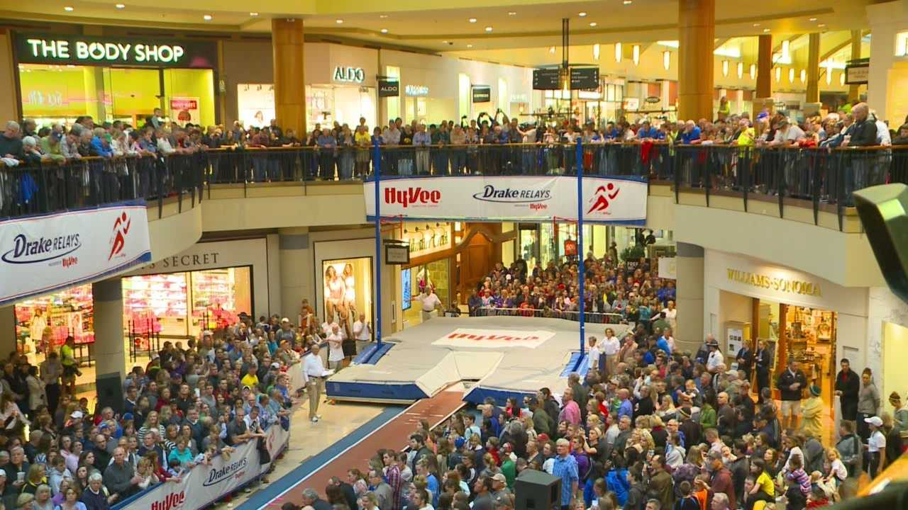It's become a tradition.  Fans packed the Jordan Creek Mall for a glimpse of high-flying athletes.