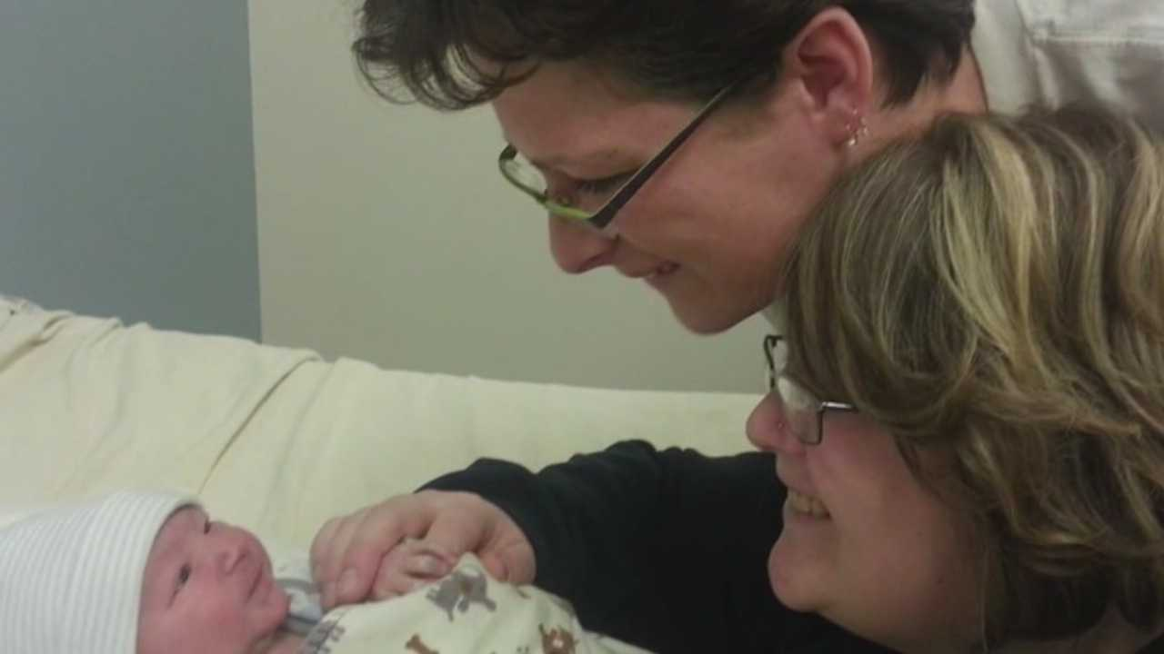 A baby dies after being returned to its mother before an adoption was completed.