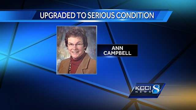 Ann Campbell serious condition