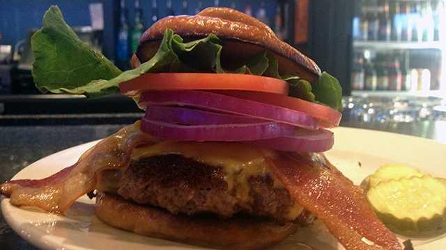 Brick City Grill named winner of Iowa's best burger.