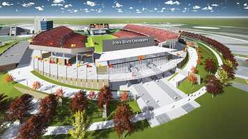 Iowa State Athletics released new concept drawings Monday showing plans to transform the south end of Jack Trice Stadium.