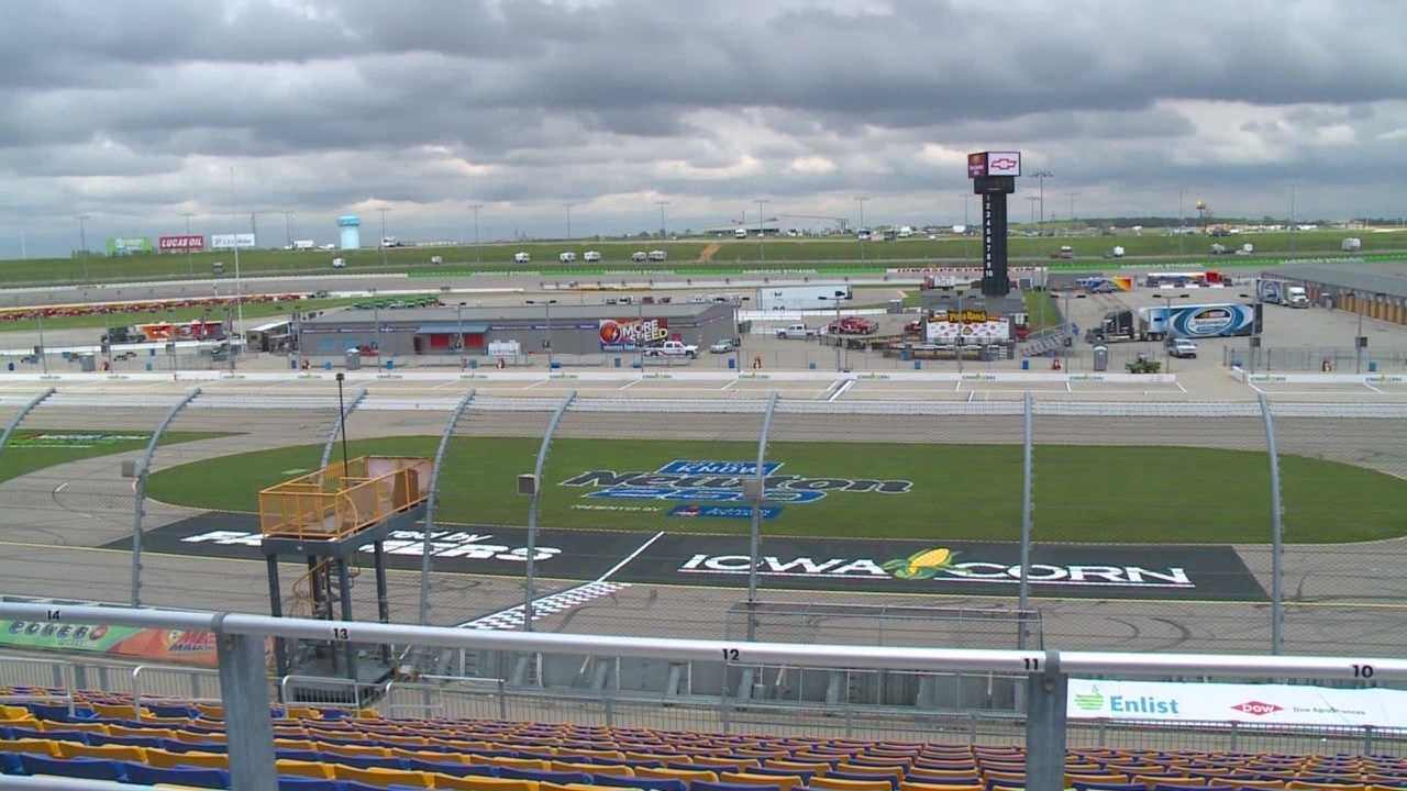 The new owner of the Iowa Speedway, NASCAR, is preparing for the first big race of the season.