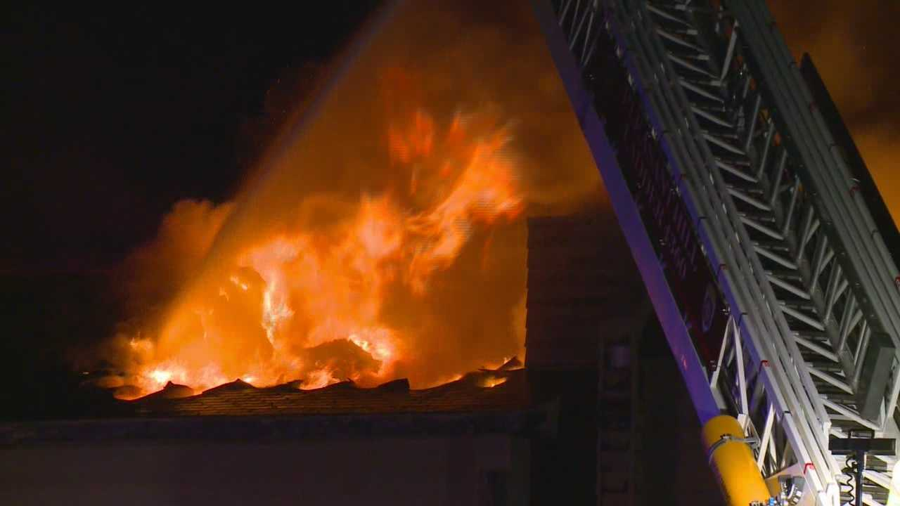 Fire crews called to office building twice overnight