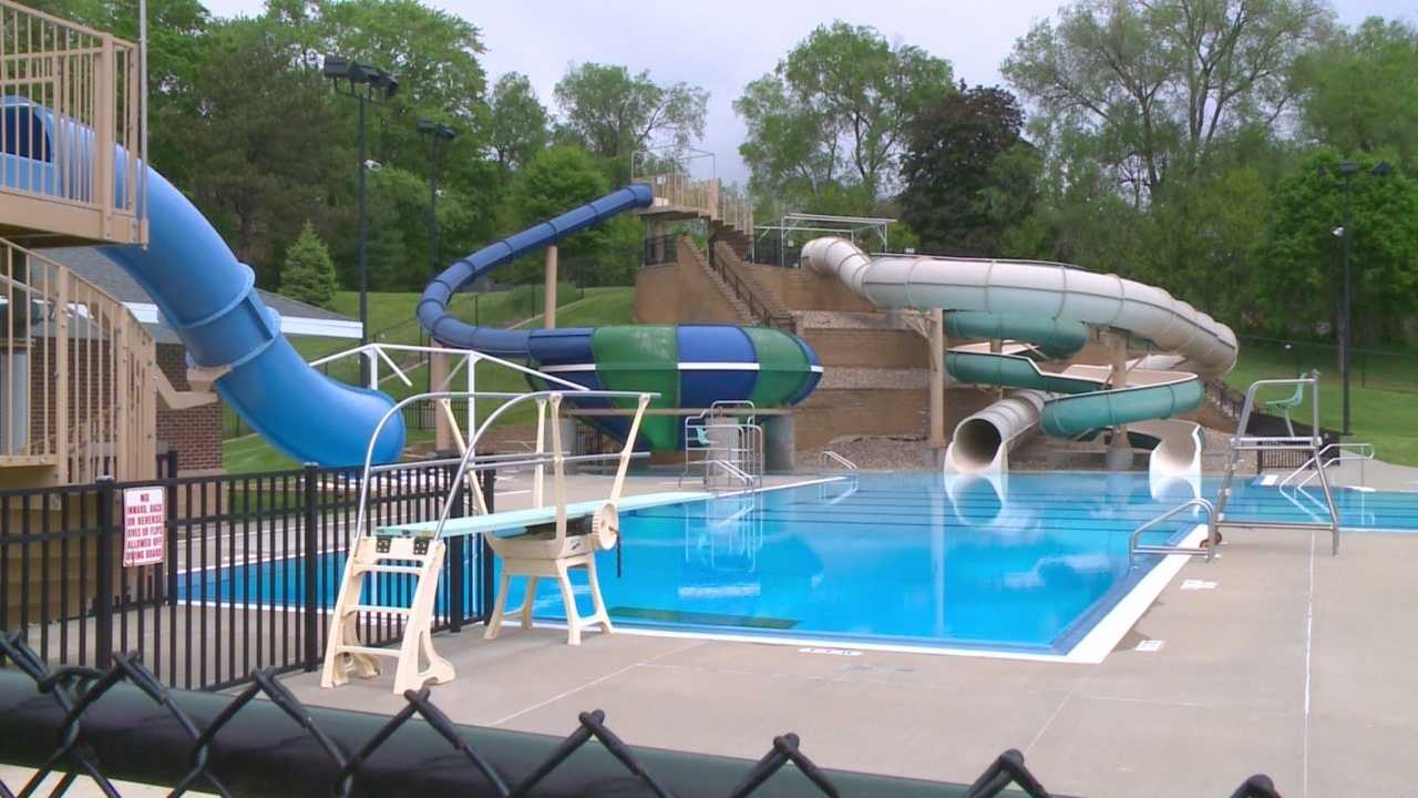Aquatic center pool leaks