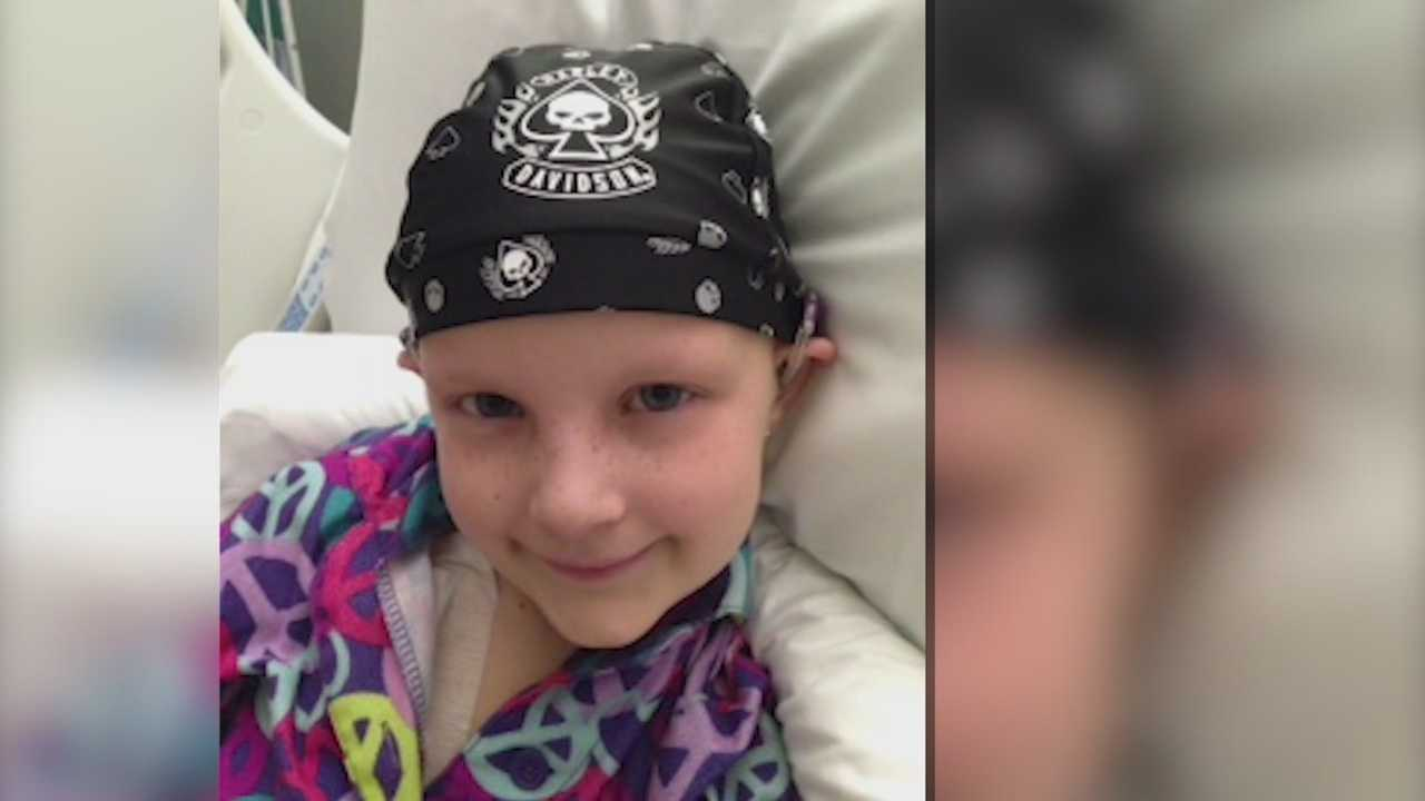 A little girl from Clive is making a lasting impact on the community.