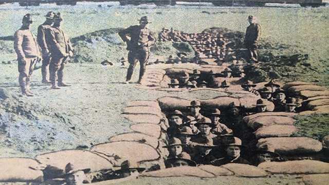 Archive photo of Camp Dodge in Johnston, Iowa.