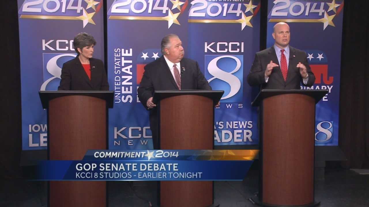 The five Republicans seeking the nomination for United States Senate met for their final debate prior to Tuesday's primary.