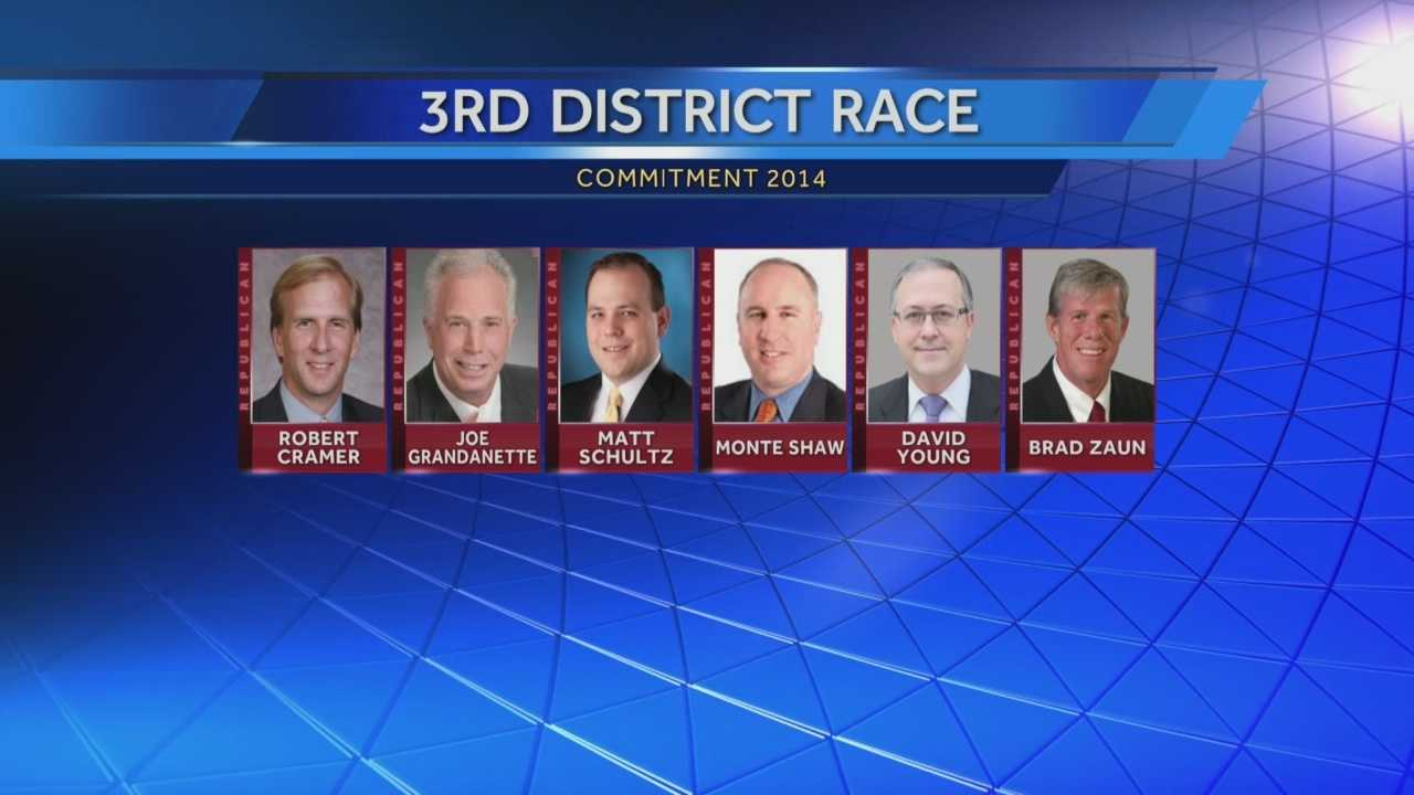 The Republican nomination in Iowa's 3rd Congressional District will be decided by a convention.