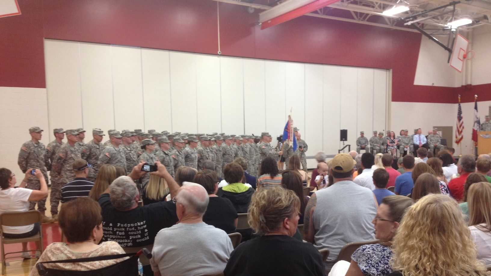 Soldiers deploying to southwest Asia remember D-Day counterparts