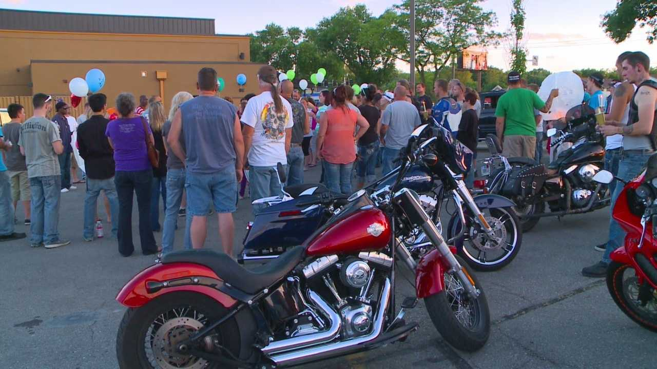 Family and friends gathered Sunday to remember the man who died Saturday.