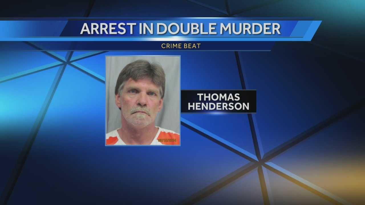 New information on the arrest of a 53-year-old man charged in a double murder case.