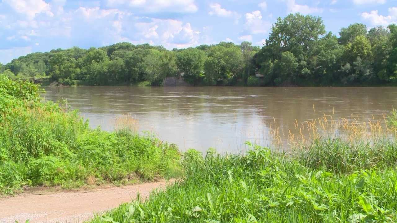 A search of the Des Moines River near Ottumwa is underway Tuesday afternoon.