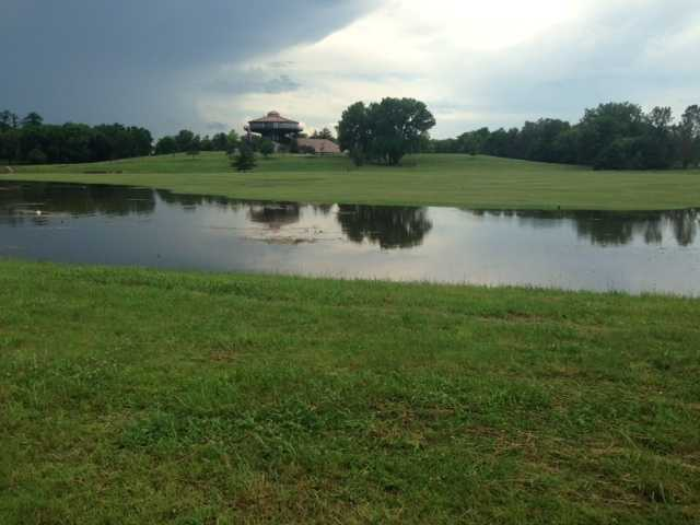 Flooding along Walnut Creek in Urbandale