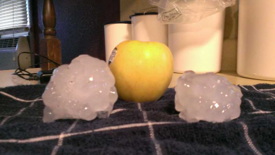 Rockwell City, Iowa Hail