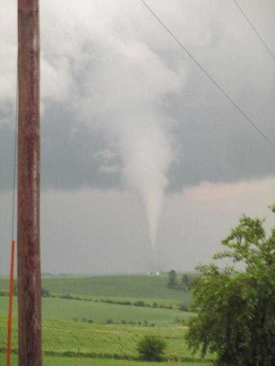 Tornado near Jasper County