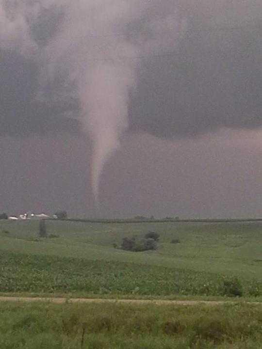 Tornado near Jasper County 2