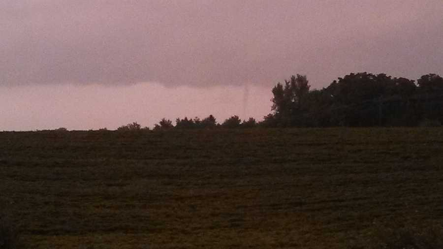 Tornado northeast of Newton