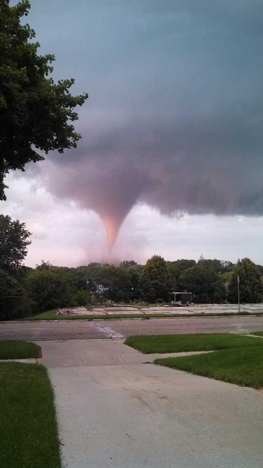 Tornado near Traer