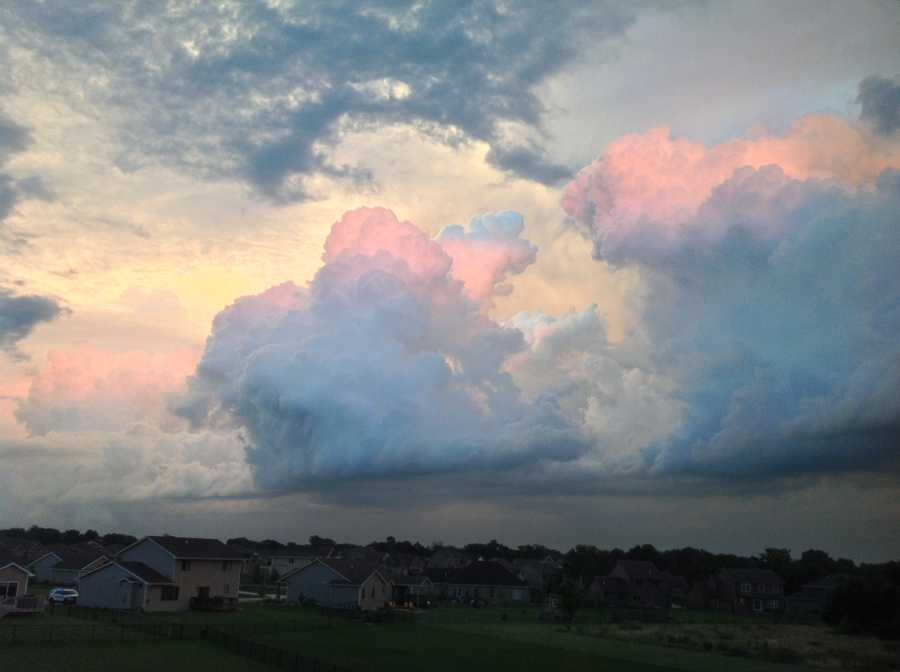 Clouds in Ankeny