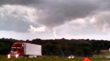 Tornado south of Dexter