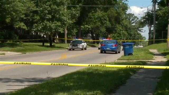 Car vs pedestrian crash in Des Moines
