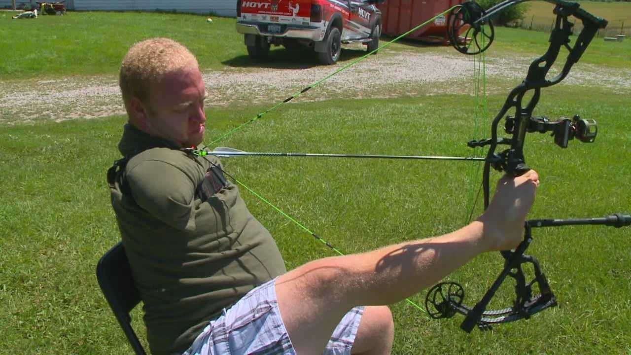 Armless Archer takes aim at new dream