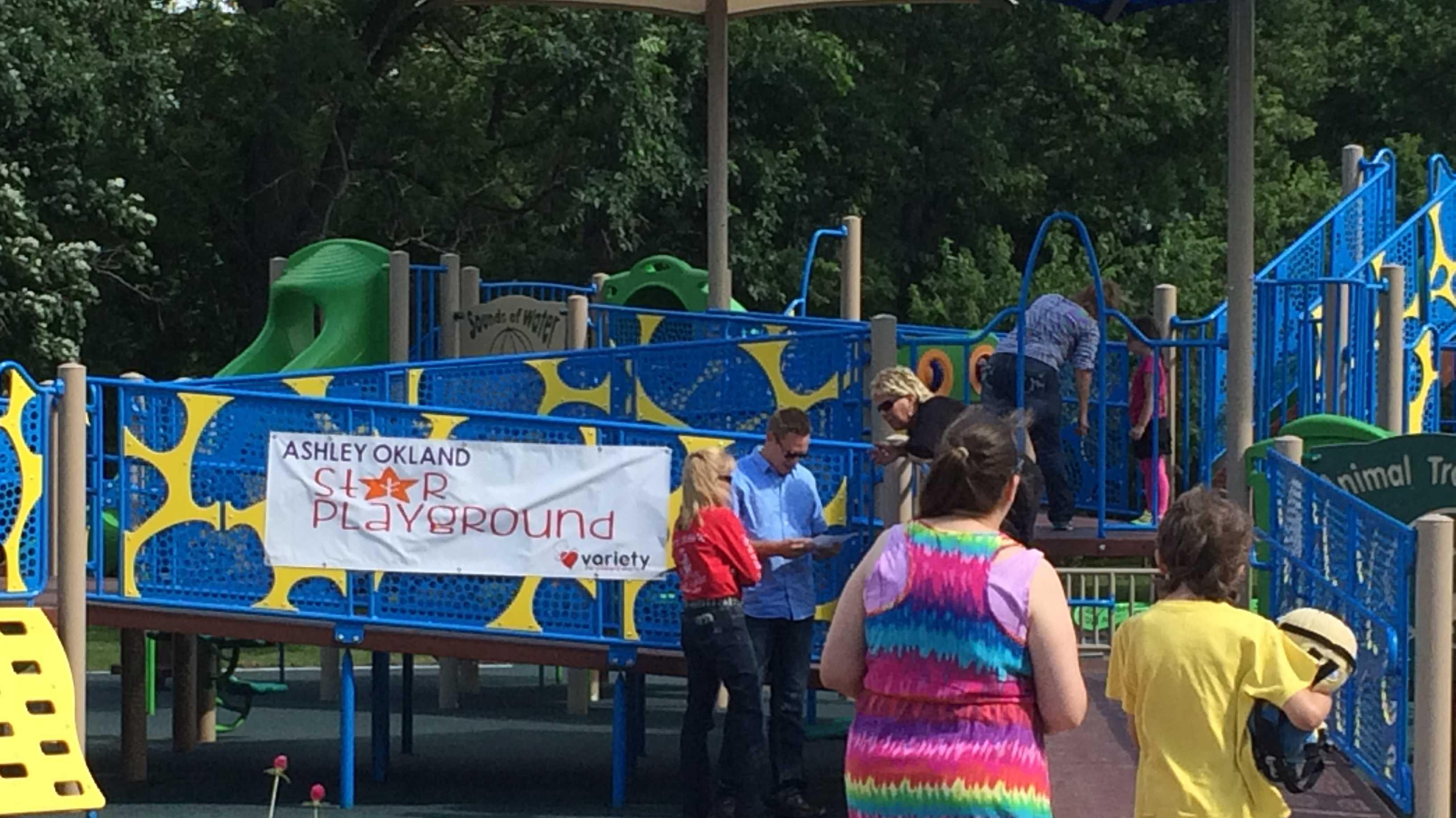 Ashley Okland Star Playground