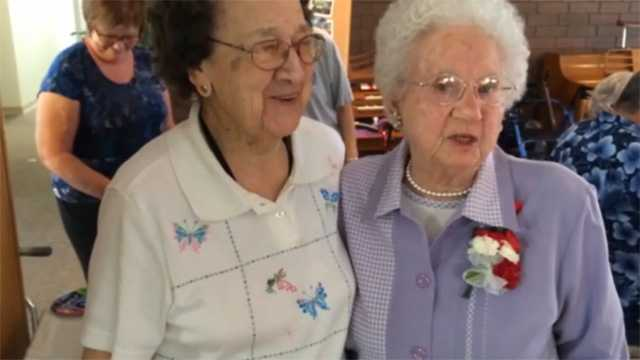 100 Year Olds Celebrate Together