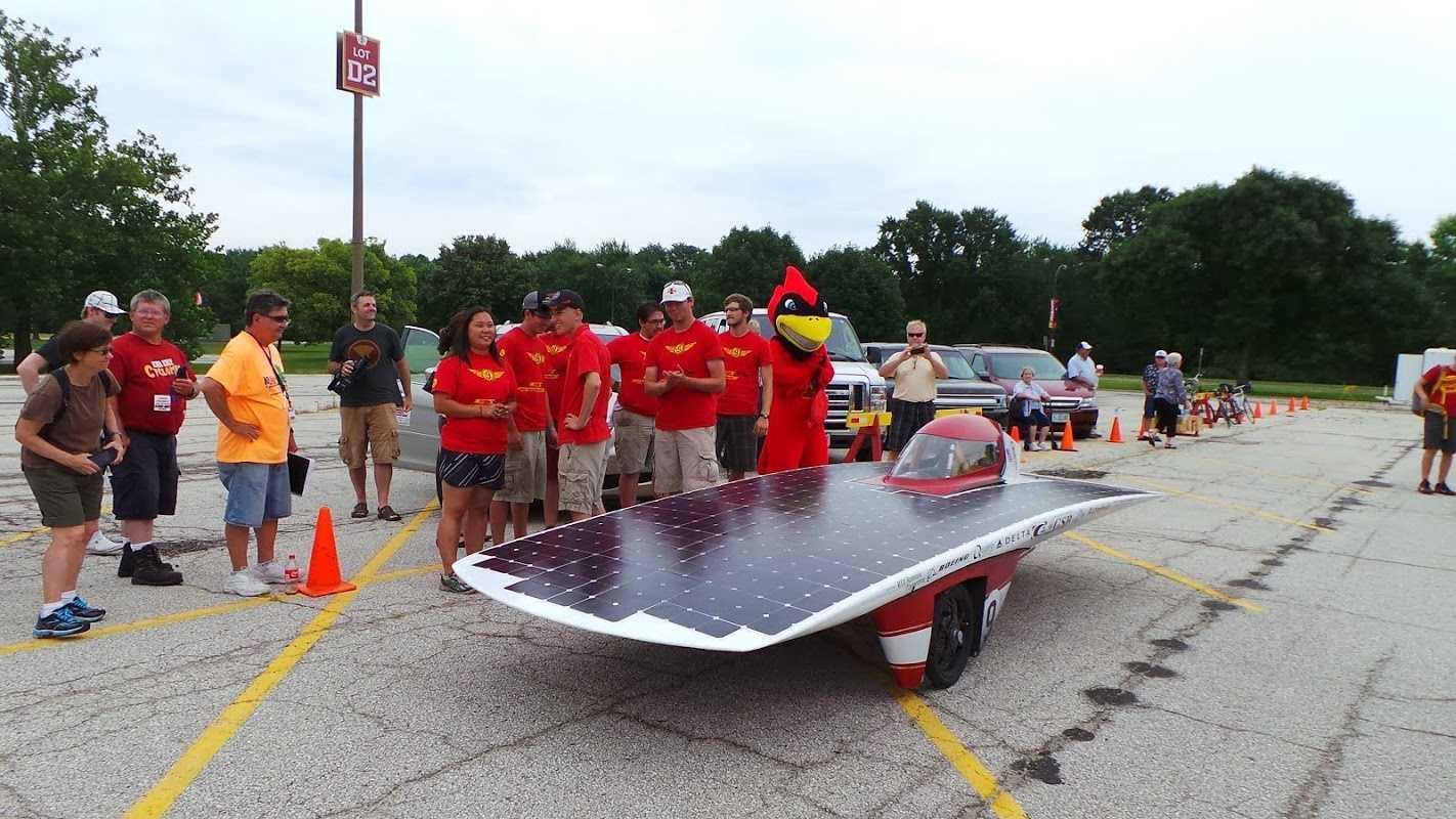 ISU solar car places third despite set backs