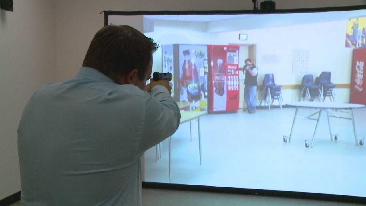 New simulator trains officers in shooting situations