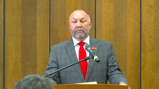 ISU President Steven Leath