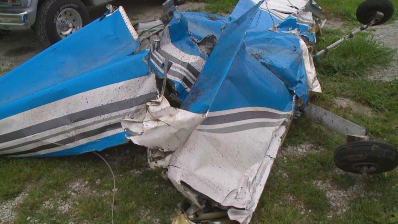 Crash site, wreckage tells story of fatal plane crash