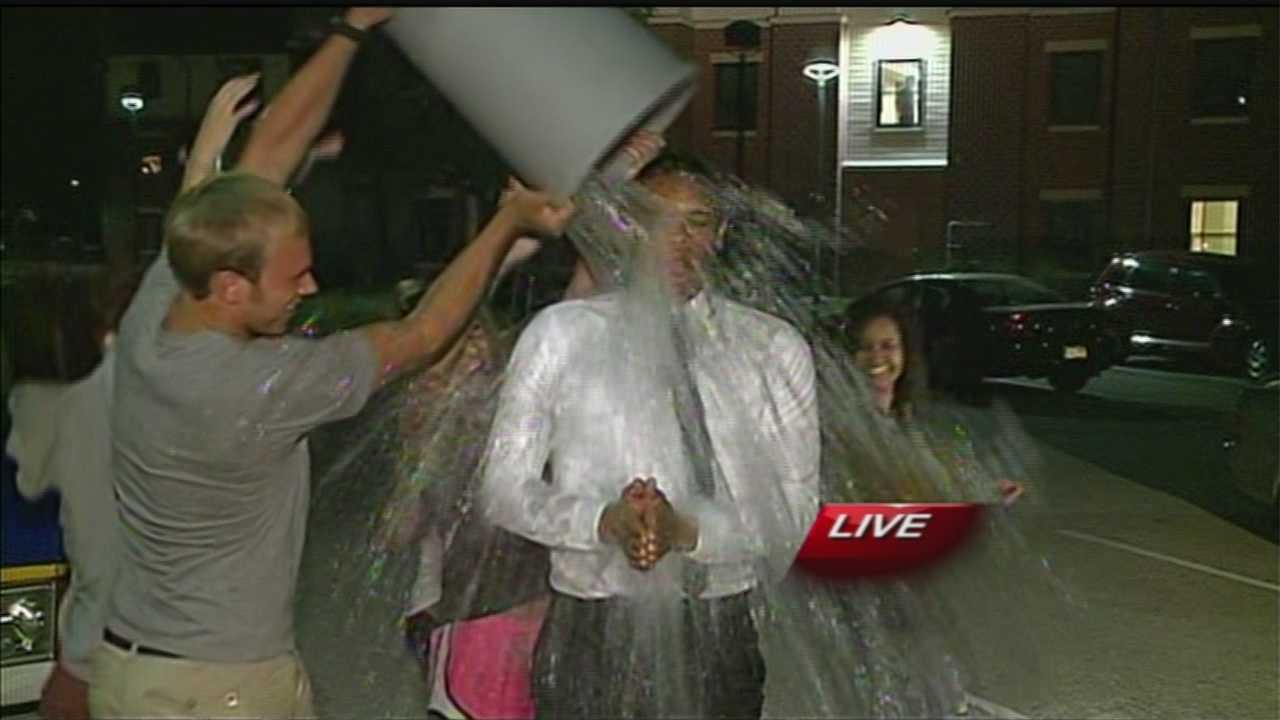 The Ice Bucket Challenge is a new effort to raise awareness for ALS, and donations to the ALS Association are up significantly from last year.