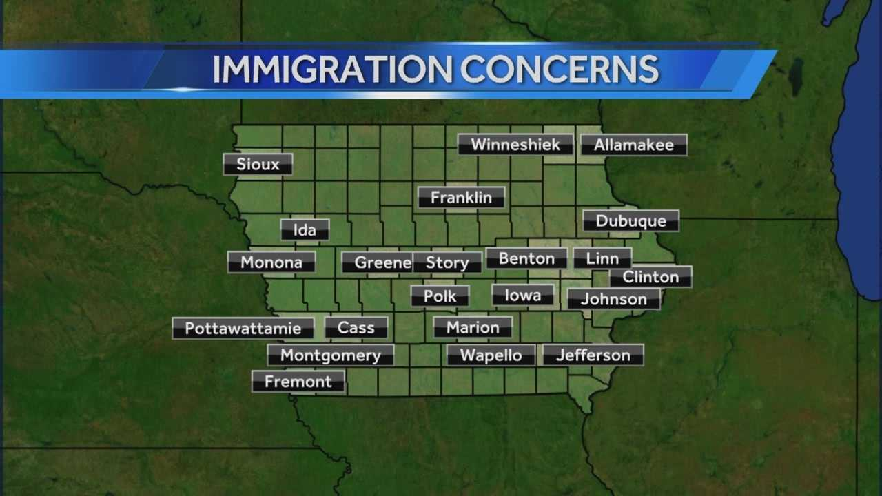 Iowa jails to refuse immigration detainers