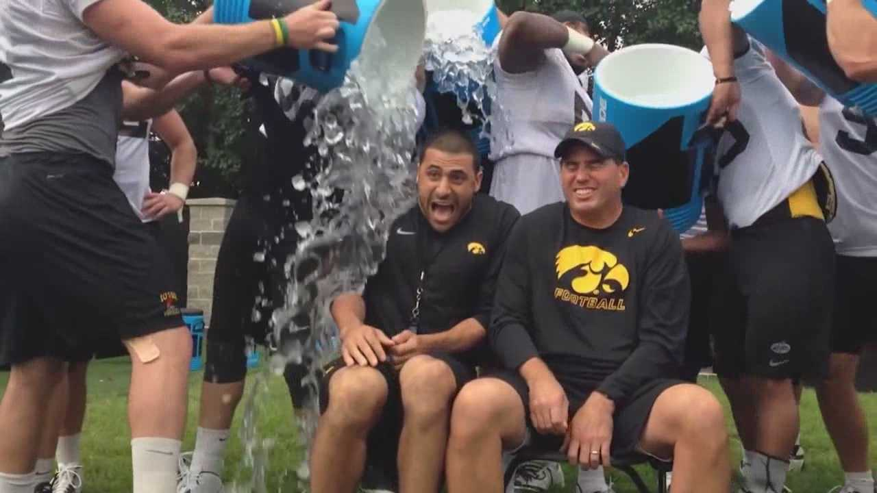 KCCI takes on the ALS ice bucket challenge