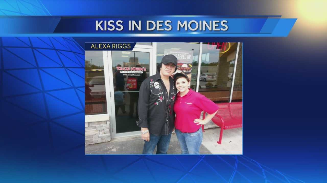 It's a safe bet that you may be hearing from co-workers who attended Wednesday night's KISS and Def Leppard concert at Wells Fargo Arena.