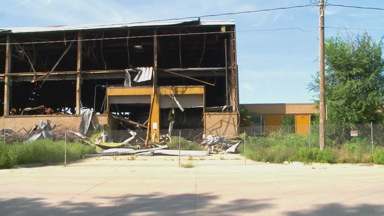 The Des Moines City Council will vote Monday on plans to demolish a burned-out eyesore on the city's east side.
