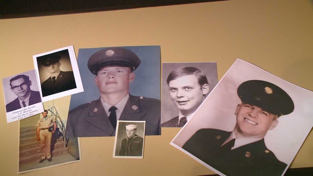 An Iowa man collects almost all of the 853 photos needed to show every Iowan killed in the Vietnam War.