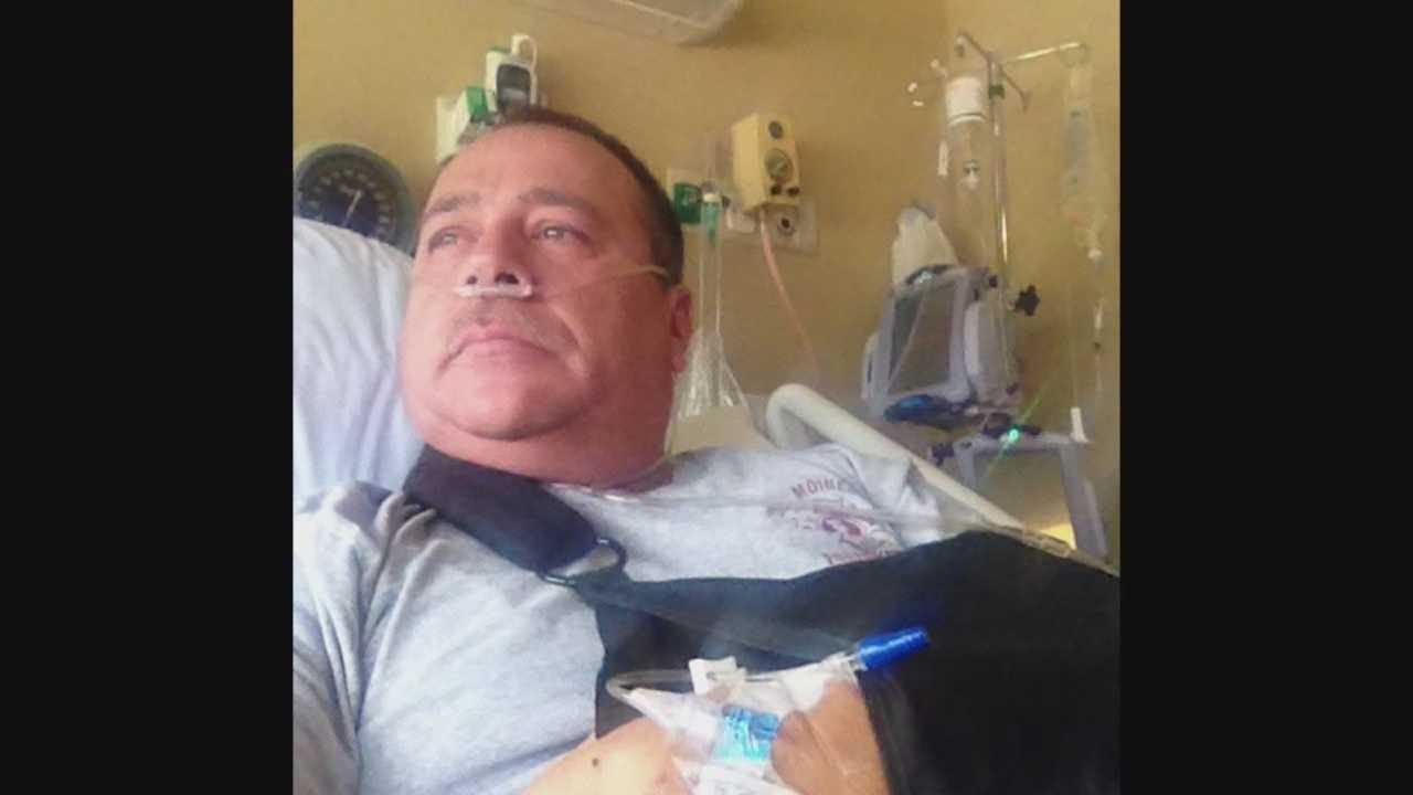 Firefighter injured in Des Moines fire still hospitalized