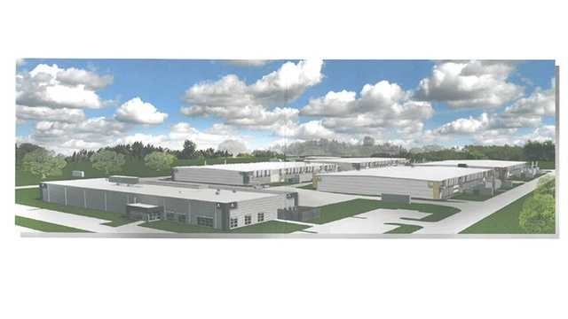 Plan for new Microsoft Data Center in West Des Moines.