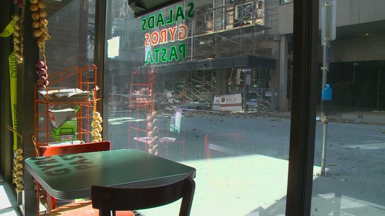 Financial fallout caused a once thriving downtown business to shut its doors.