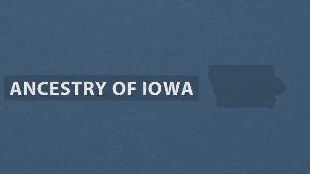 Take a closer look at the breakdown of ancestries in Iowa in this slideshow based on data from the U.S. Census Bureau American Community Survey.