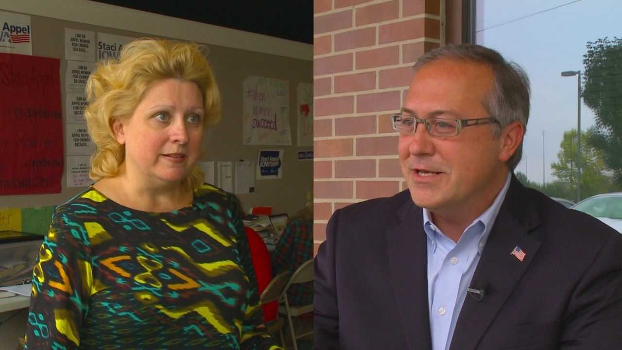 The candidates vying for a seat in Iowa's 3rd Congressional District will square-off Monday at Simpson College for a live debate.