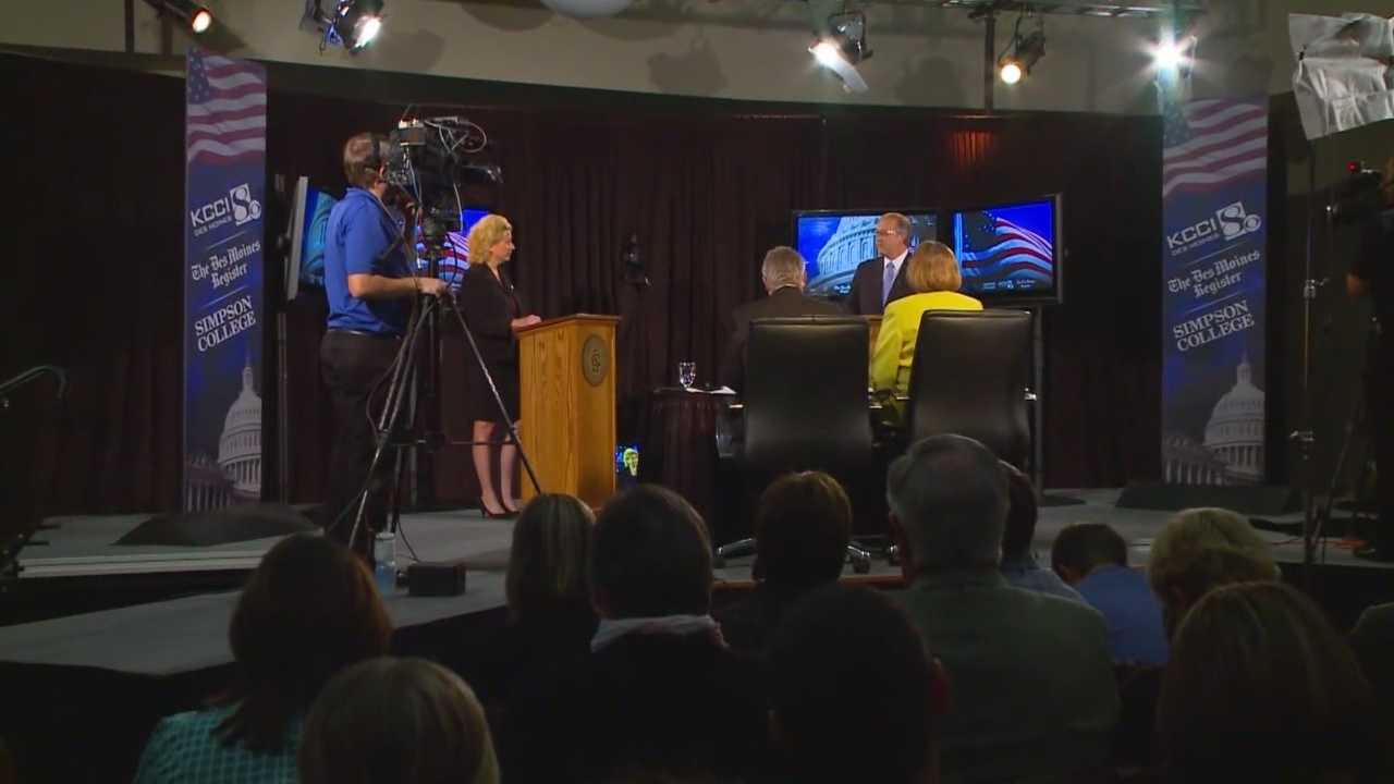 Candidates for Iowa's 3rd district Congressional seat, Democrat Staci Appel and Republican David Young faced off Monday night in their second debate. Many political analysts are calling the debate a toss-up.
