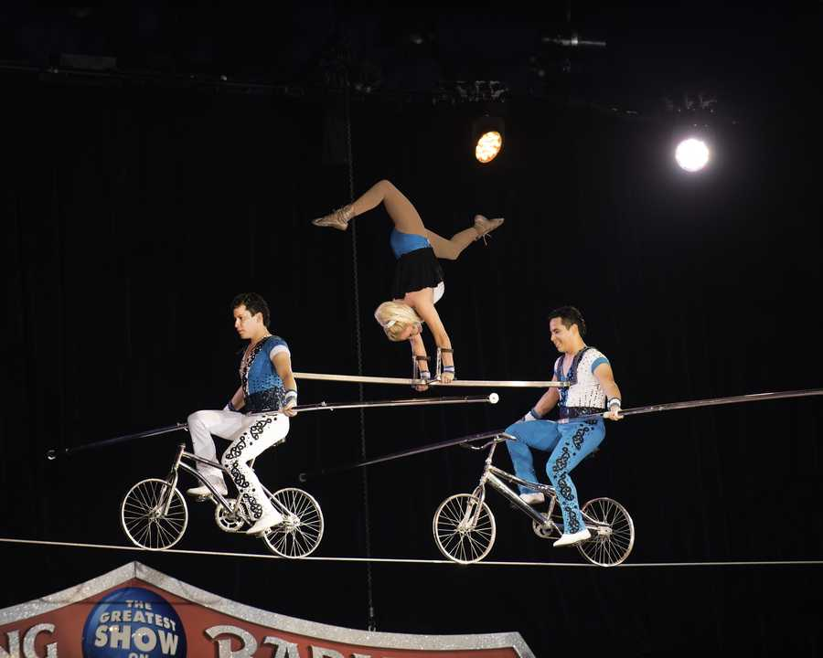 "Ringling Bros. and Barnum & Bailey Presents ""Super Circus Heroes"" is making a stop at Wells Fargo Arena playing Saturday through Sunday! Get ticket information here: http://bit.ly/1wR4gRw"