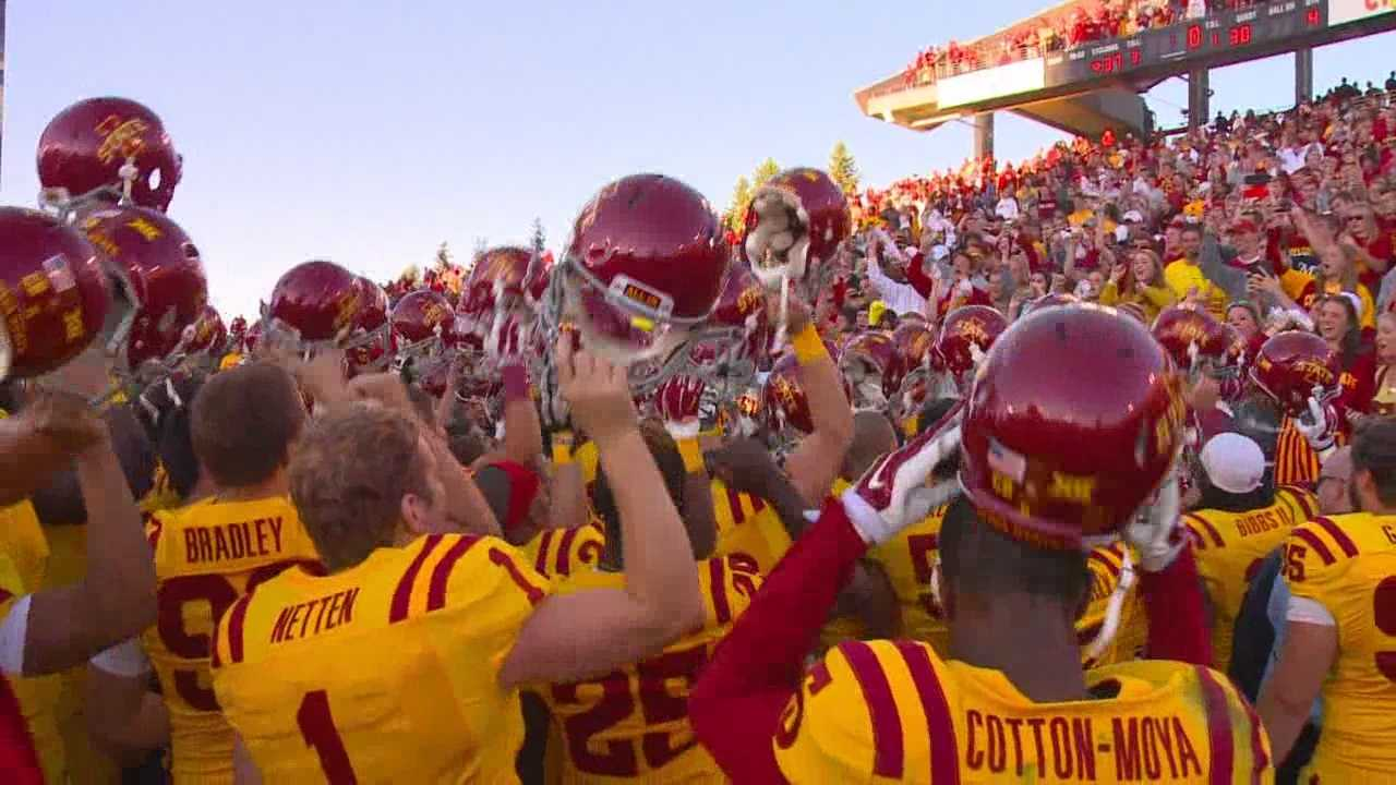 Richardson's career day powered ISU back in the win column