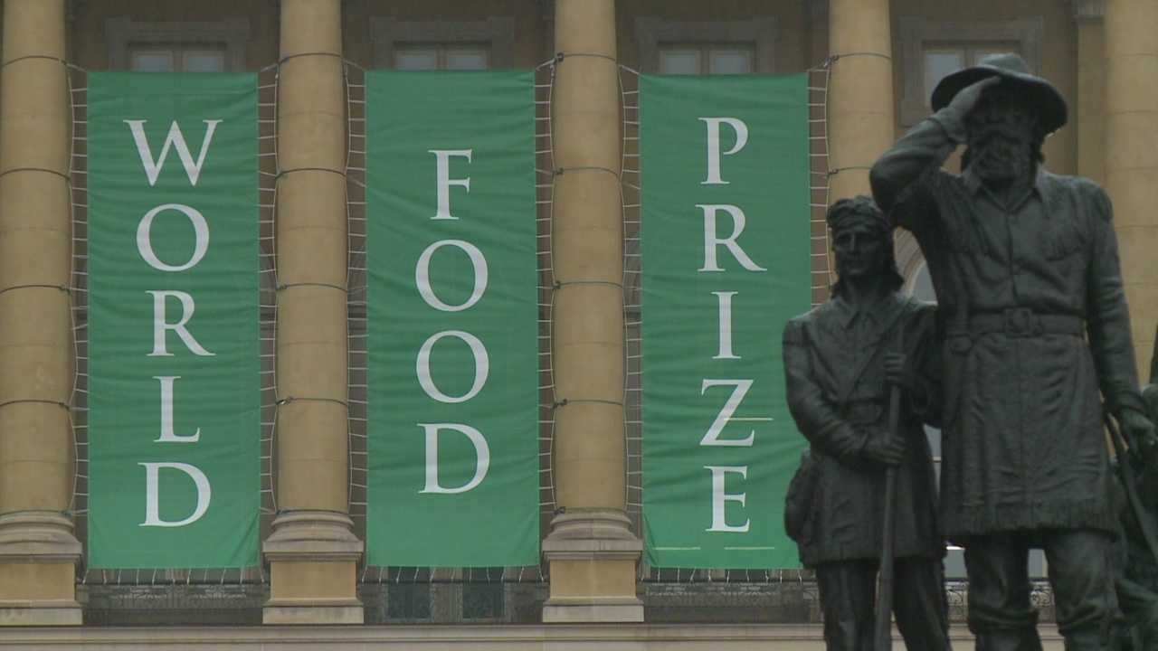 The World Food Prize is in Des Moines this week, which will bring more than 1,200 people from 60 countries to talk about solutions to feeding a rapidly growing planet in addition to Ebola concerns.
